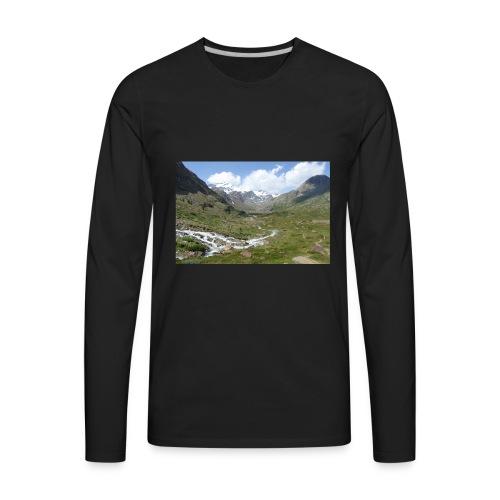 122536382 - Men's Premium Long Sleeve T-Shirt
