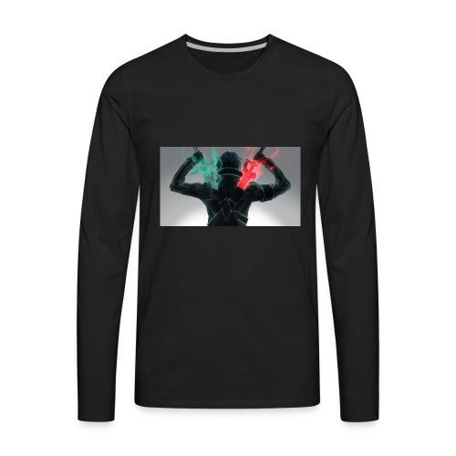02B83B30 C1AD 4043 9531 1C440B6D51F3 - Men's Premium Long Sleeve T-Shirt