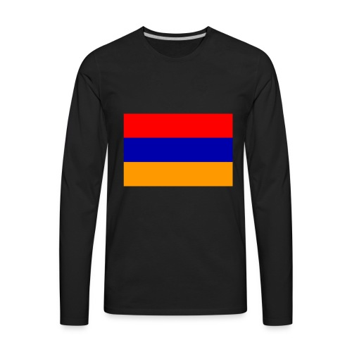 Armenian Flag - Republican of Armenia - Men's Premium Long Sleeve T-Shirt