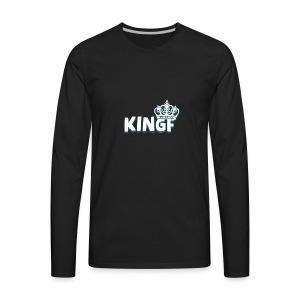 King F - Men's Premium Long Sleeve T-Shirt