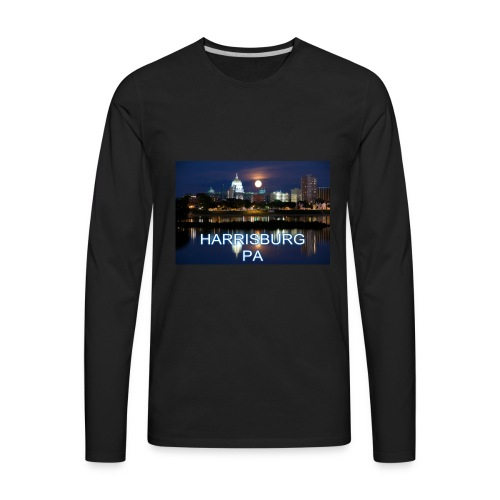 Harrisburg is home - Men's Premium Long Sleeve T-Shirt