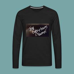 Official T.E.A Wear - Men's Premium Long Sleeve T-Shirt
