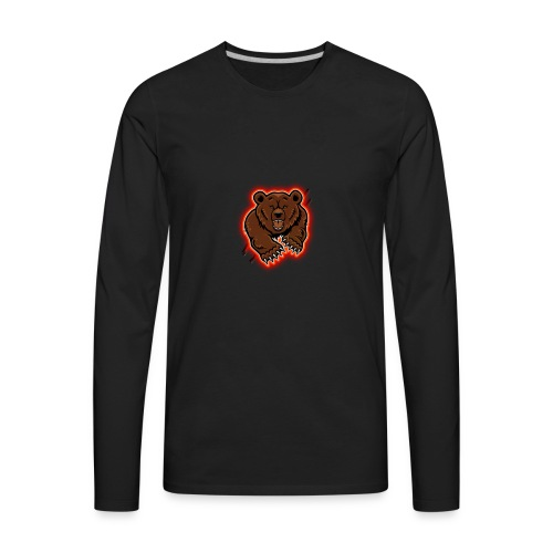 RansackedRains Bear Attack - Men's Premium Long Sleeve T-Shirt