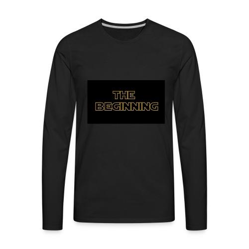 The biginning - Men's Premium Long Sleeve T-Shirt