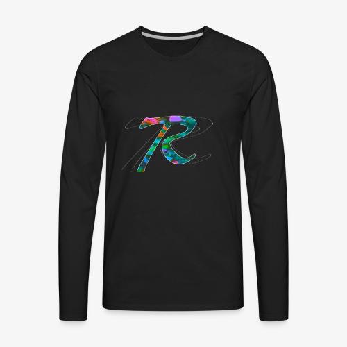 R Hoodie - Men's Premium Long Sleeve T-Shirt