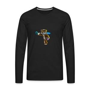 Supershiftery Design 1 - Men's Premium Long Sleeve T-Shirt