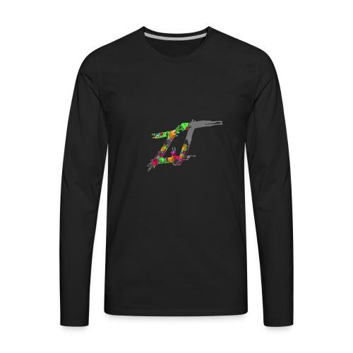 geometric - Men's Premium Long Sleeve T-Shirt