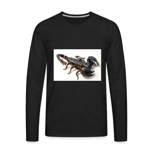 1200px Female Emperor Scorpion - Men's Premium Long Sleeve T-Shirt