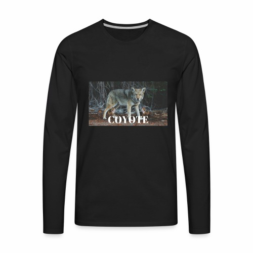 COYOTE - Men's Premium Long Sleeve T-Shirt
