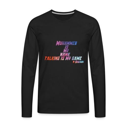 Muhammed is my Name Merch - Men's Premium Long Sleeve T-Shirt