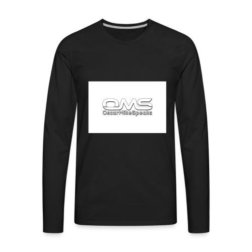 OscarMikeSpeaks - Men's Premium Long Sleeve T-Shirt