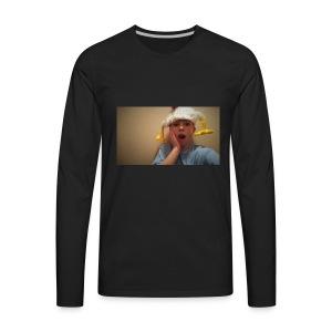 Kale Garrison Chicken Head - Men's Premium Long Sleeve T-Shirt