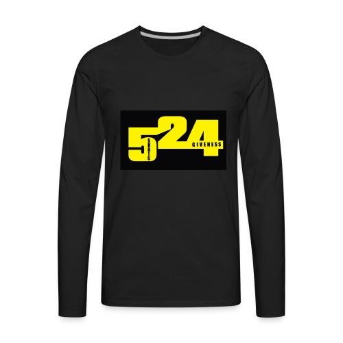 524 - Men's Premium Long Sleeve T-Shirt