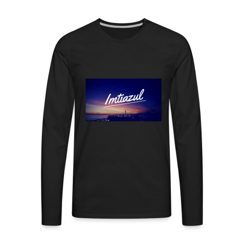 Copy of imtiazul - Men's Premium Long Sleeve T-Shirt