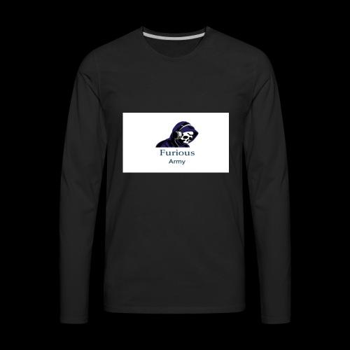 savage hoddie - Men's Premium Long Sleeve T-Shirt