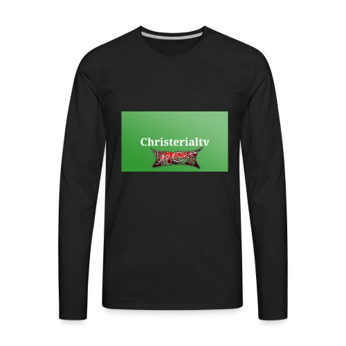 green light solid paint 65834 2048x1152 2018030718 - Men's Premium Long Sleeve T-Shirt