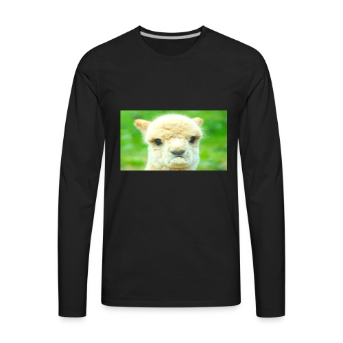 LLAMA GOAT merchandise - Men's Premium Long Sleeve T-Shirt