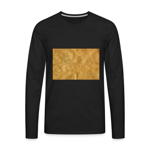 golden block rock - Men's Premium Long Sleeve T-Shirt