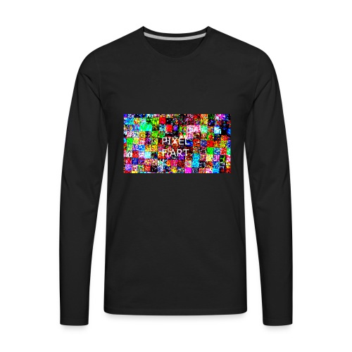 Pixel FArt - Men's Premium Long Sleeve T-Shirt
