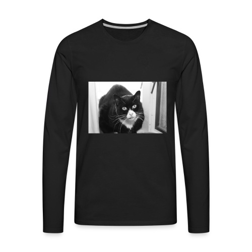 Nola The Cat - Men's Premium Long Sleeve T-Shirt