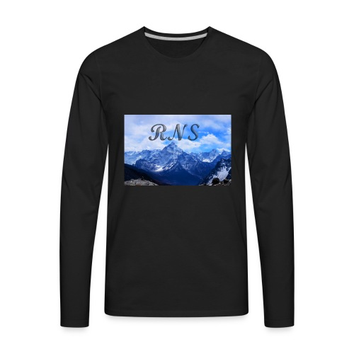 RNS in the clouds - Men's Premium Long Sleeve T-Shirt