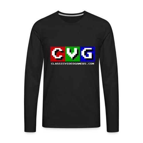 CVG Logo - Men's Premium Long Sleeve T-Shirt