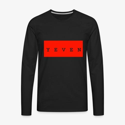 Yevenb - Men's Premium Long Sleeve T-Shirt