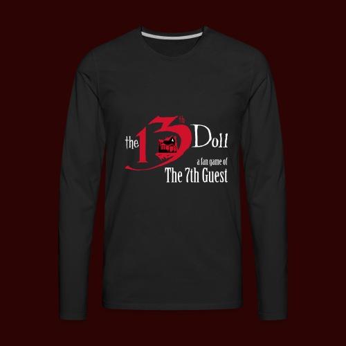 The 13th Doll Logo - Men's Premium Long Sleeve T-Shirt