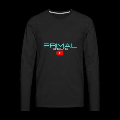 PRIMALGROUNDMERCHANDISE - Men's Premium Long Sleeve T-Shirt