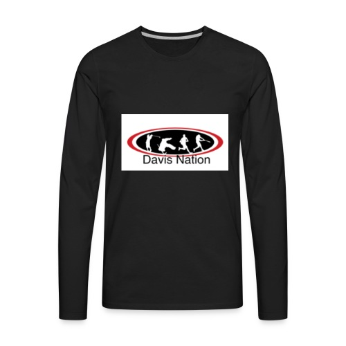 Davis Nation - Men's Premium Long Sleeve T-Shirt