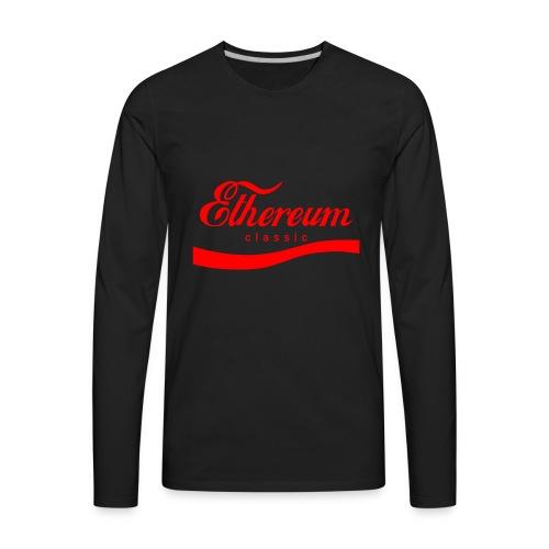 Ethereum Classic - Men's Premium Long Sleeve T-Shirt
