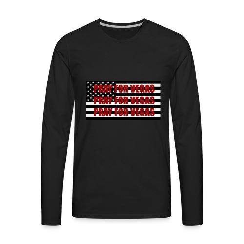 Pray for LAS VEGAS - Men's Premium Long Sleeve T-Shirt