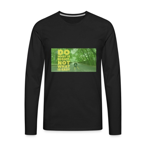 Awesome - Men's Premium Long Sleeve T-Shirt