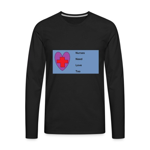 nurses - Men's Premium Long Sleeve T-Shirt