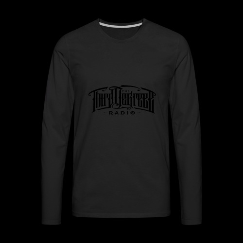 TDR - Tees Black Ink - Men's Premium Long Sleeve T-Shirt