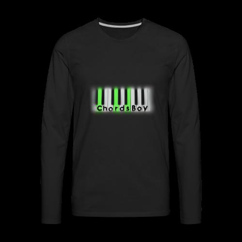 ChordsBoy's Merch - Men's Premium Long Sleeve T-Shirt