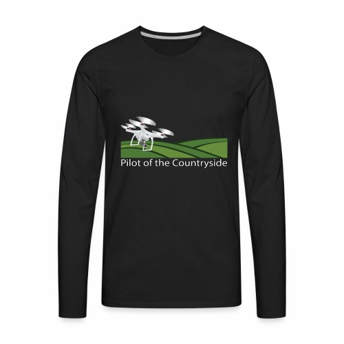 Pilot of the Countryside - Men's Premium Long Sleeve T-Shirt