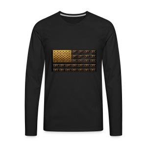 AMERICAN MONEY - Men's Premium Long Sleeve T-Shirt