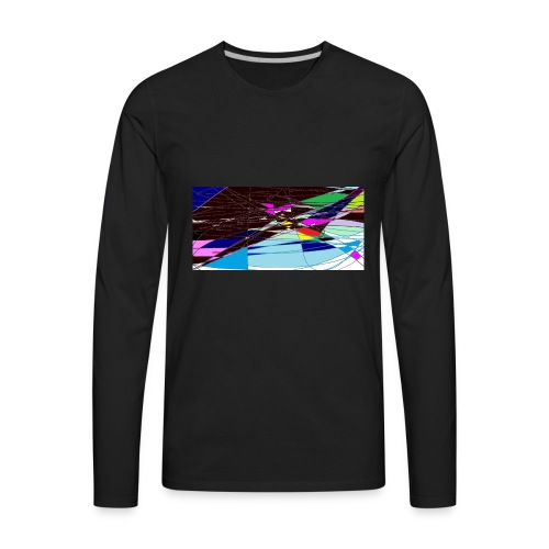 my world - Men's Premium Long Sleeve T-Shirt