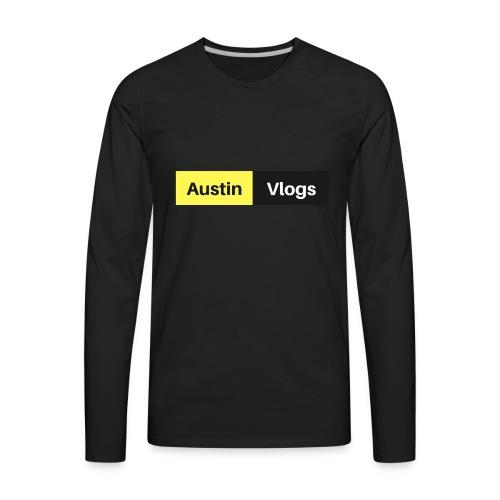Austin Vlogs Merch - Men's Premium Long Sleeve T-Shirt