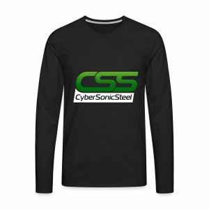 CyberSonicSteel - Men's Premium Long Sleeve T-Shirt