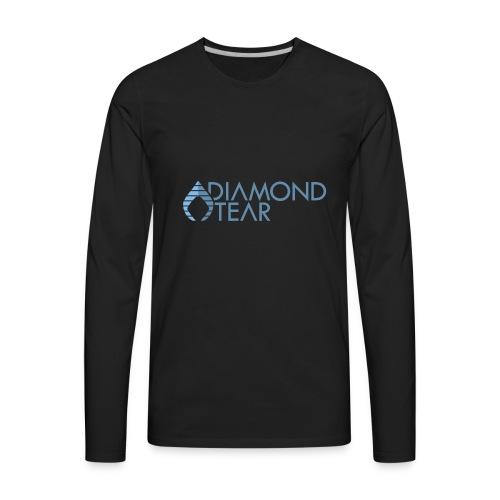 Diamond Tear - Men's Premium Long Sleeve T-Shirt