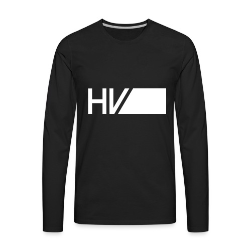 HV Rectangular - Men's Premium Long Sleeve T-Shirt