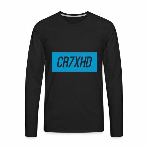 CR7XHDShirtLogo - Men's Premium Long Sleeve T-Shirt