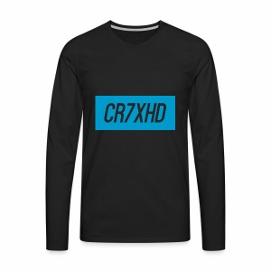 CR7XHDShirtLogo - Men's Premium Long Sleeve T-Shirt