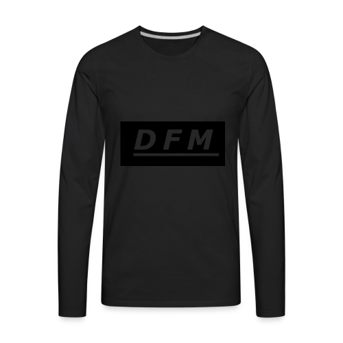 D.F.M Logo Merch - Men's Premium Long Sleeve T-Shirt
