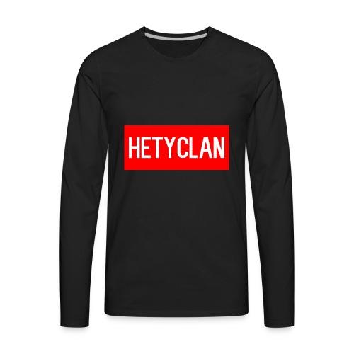 hety shirt - Men's Premium Long Sleeve T-Shirt