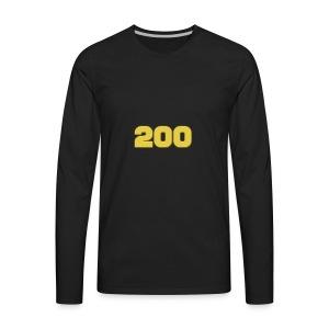 200 Subscriber Merch!!! - Men's Premium Long Sleeve T-Shirt