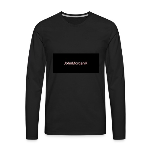 JohnMorganK - Men's Premium Long Sleeve T-Shirt