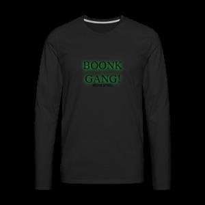 Boonk Gang Exclusive Tee - Men's Premium Long Sleeve T-Shirt